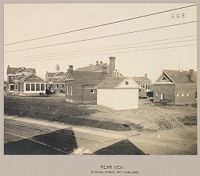 Charity, Public: United States. New York. Schenectady. Schenectady County Almshouse: Almshouses Of Schenectady County, N.y.: Rear View (Showing Stable And Outbuilding)
