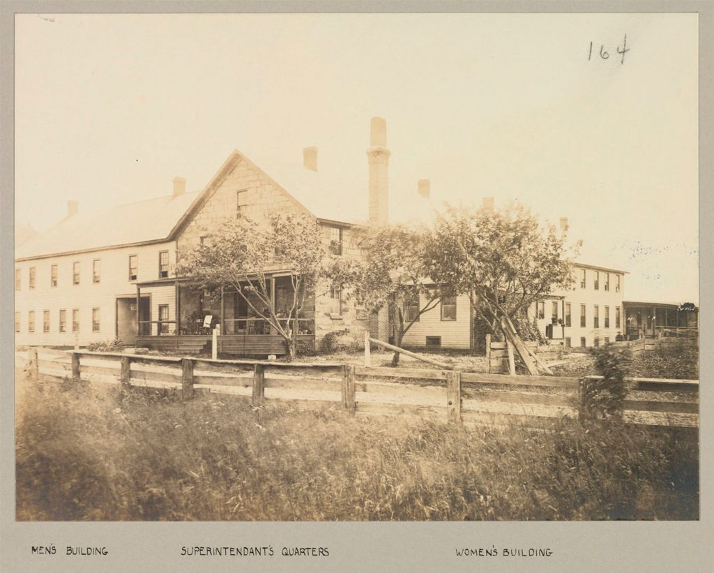 Charity, Public: United States. New York. Warrensburg. Warren County Almshouse: Almshouses Of Warren County, N.y.: Men's Building; Superintendant's Quarters; Women's Building