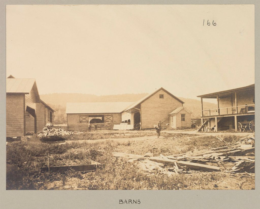 Charity, Public: United States. New York. Warrensburg. Warren County Almshouse: Almshouses Of Warren County, N.y.: Barns