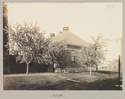 Crime, Women: United States. New York. Albion. Western House of Refuge for Women: State Western House of Refuge, Albion, N.Y.: Laundry.   Social Museum Collection