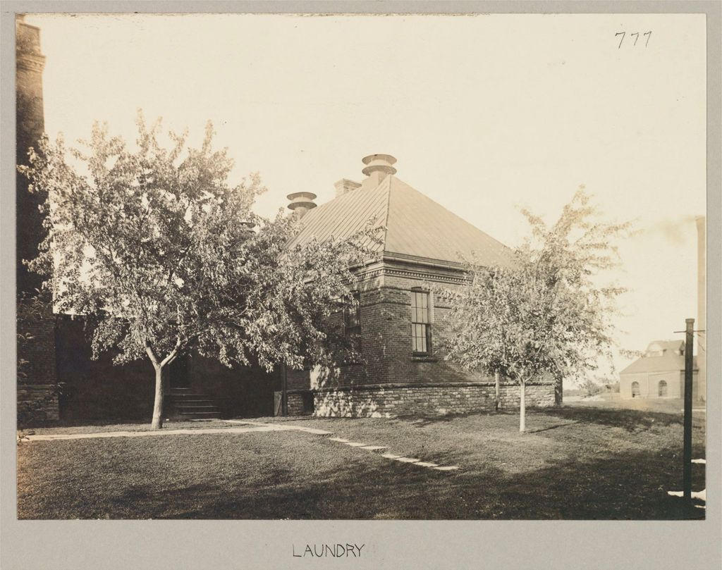 Crime, Women: United States. New York. Albion. Western House Of Refuge For Women: State Western House Of Refuge, Albion, N.y.: Laundry