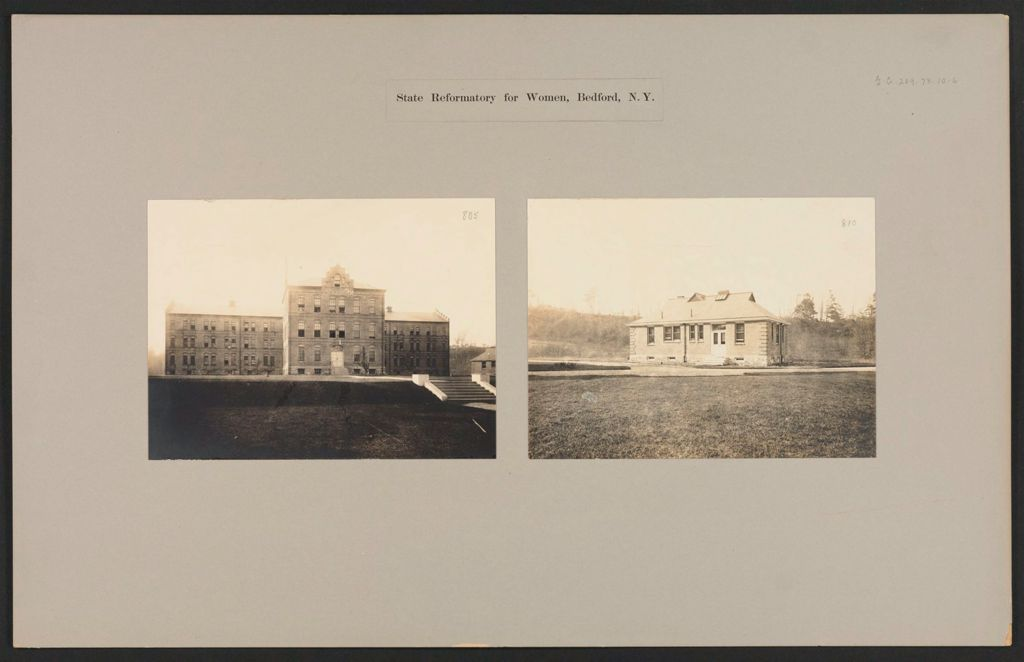 Crime, Women: United States. New York. Bedford. State Reformatory For Women: State Reformatory For Women, Bedford, N.y.