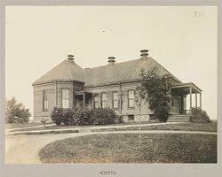 Crime, Women: United States. New York. Albion. Western House of Refuge for Women: State Western House of Refuge, Albion, N.Y.: Hospital.   Social Museum Collection