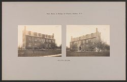 Crime, Women: United States. New York. Hudson. House of Refuge for Women: State House of Refuge for Women, Hudson, N.Y.: Industrial Building.   Social Museum Collection