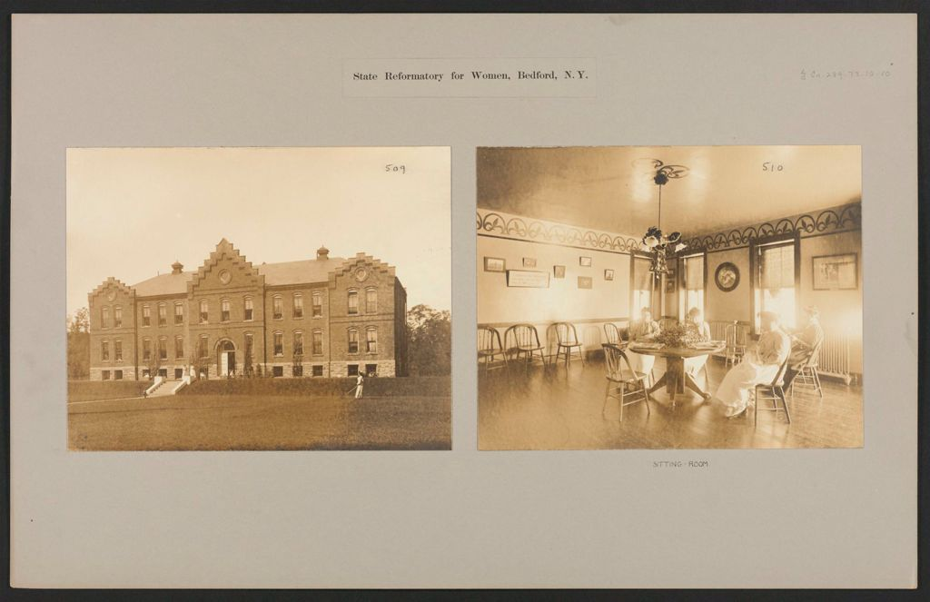 Crime, Women: United States. New York. Bedford. State Reformatory For Women: State Reformatory For Women, Bedford, N.y.