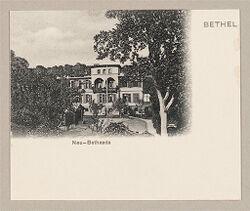 Defectives, Epileptics: Germany. Bielefeld. Kolonie Bethel: Anstalt Bethel (Philanthropic Institutions established by Pastor von Bodelschwingh), Bielefeld, Germany: Bethel. Neu-Bethesda.   Social Museum Collection
