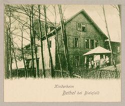 Defectives, Epileptics: Germany. Bielefeld. Kolonie Bethel: Anstalt Bethel (Philanthropic Institutions established by Pastor von Bodelschwingh), Bielefeld, Germany: Bethel bei Bielefeld. Kinderheim.   Social Museum Collection