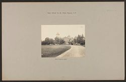 Defectives, Blind: United States. New York. Batavia. State School for the Blind: State School for the Blind, Batavia, N.Y.: Drive to Main Buildings.   Social Museum Collection