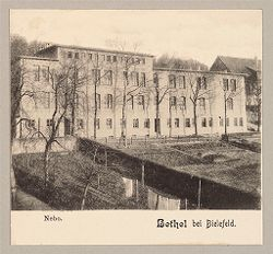 Defectives, Epileptics: Germany. Bielefeld. Kolonie Bethel: Anstalt Bethel (Philanthropic Institutions established by Pastor von Bodelschwingh), Bielefeld, Germany: Bethel bei Bielefeld. Nebo..   Social Museum Collection
