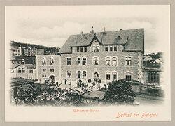 Defectives, Epileptics: Germany. Bielefeld. Kolonie Bethel: Anstalt Bethel (Philanthropic Institutions established by Pastor von Bodelschwingh), Bielefeld, Germany: Bethel bei Bielefeld. Gärtnerei Saron.   Social Museum Collection