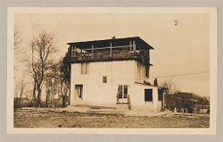 Housing, Industrial: United States. Virginia. Virginia Highlands: Detached Dwellings. Poured Houses of Concrete: Milton Dana Morrill houses at Virginia Highlands, near Washington, D.C..   Social Museum Collection