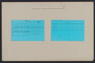 Housing, Government: United States. Illinois. Chicago: Schedules Used in Investigation of Housing Conditions, Chicago, Ill.