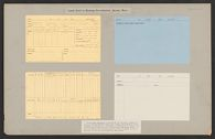 Housing, Government: United States. Massachusetts. Boston: Cards Used in Housing Investigation, Boston, Mass.: Forms and memoranda