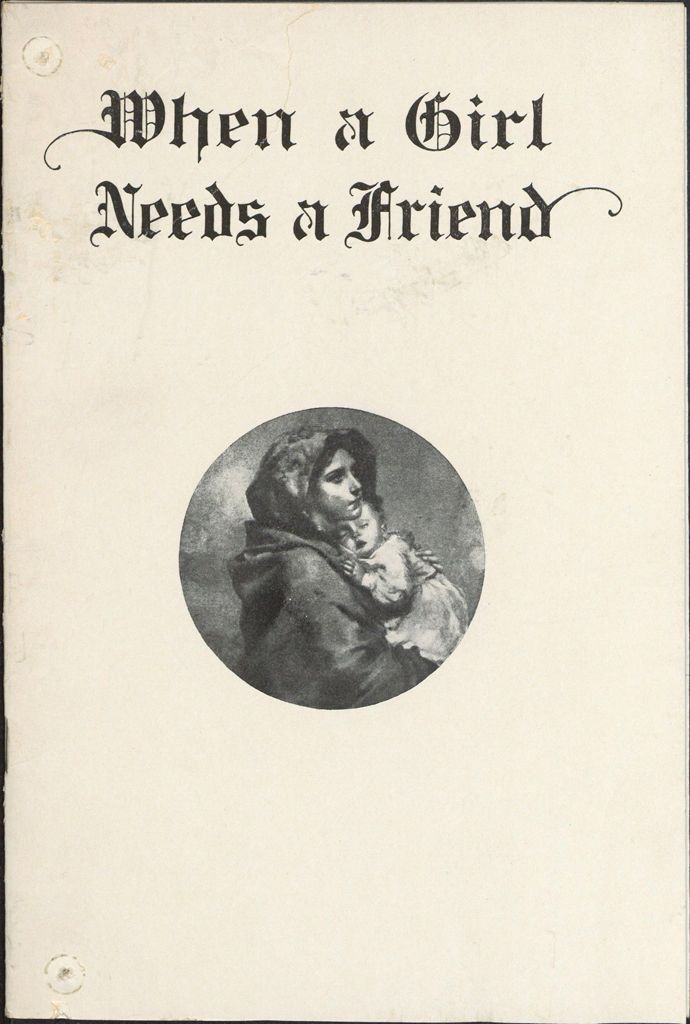 Charity, Organizations: United States. Massachusetts. Boston. Publicity For Social Work. Annual Reports: When A Girl Needs A Friend: Annual Report Of The Florence Crittenton League Of Compassion, Inc.