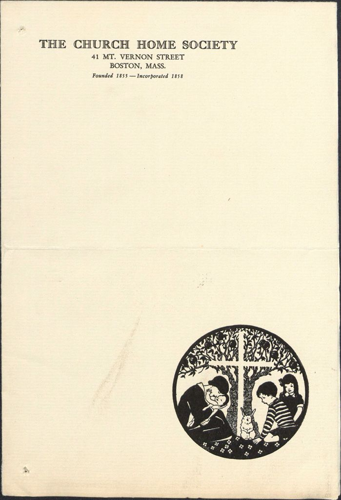 Charity, Organizations: United States. Massachusetts. Boston. Publicity For Social Work. Annual Reports: The Church Home Society: 1928 Statistical And Financial Reports Of The Church Home Society