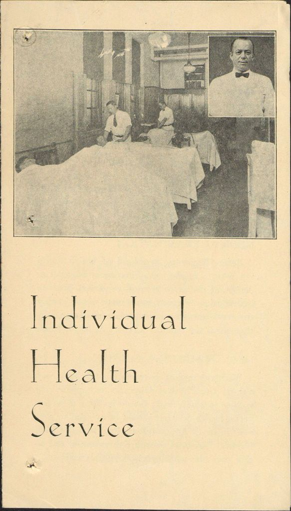 Charity, Organizations: United States. Massachusetts. Boston. Publicity For Social Work. Leaflets & Folders: Individual Health Services: Boston Young Men's Christian Association