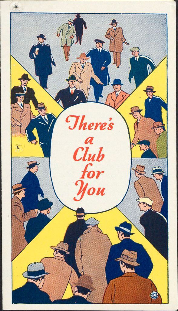 Charity, Organizations: United States. Massachusetts. Boston. Publicity For Social Work. Leaflets & Folders: There's A Club For You At The Ymca: Boston Young Men's Christian Association
