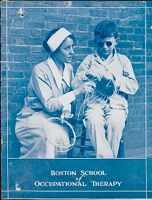 Charity, Organizations: United States. Massachusetts. Boston. Publicity For Social Work: Booklets: Boston School Of Occupational Therapy