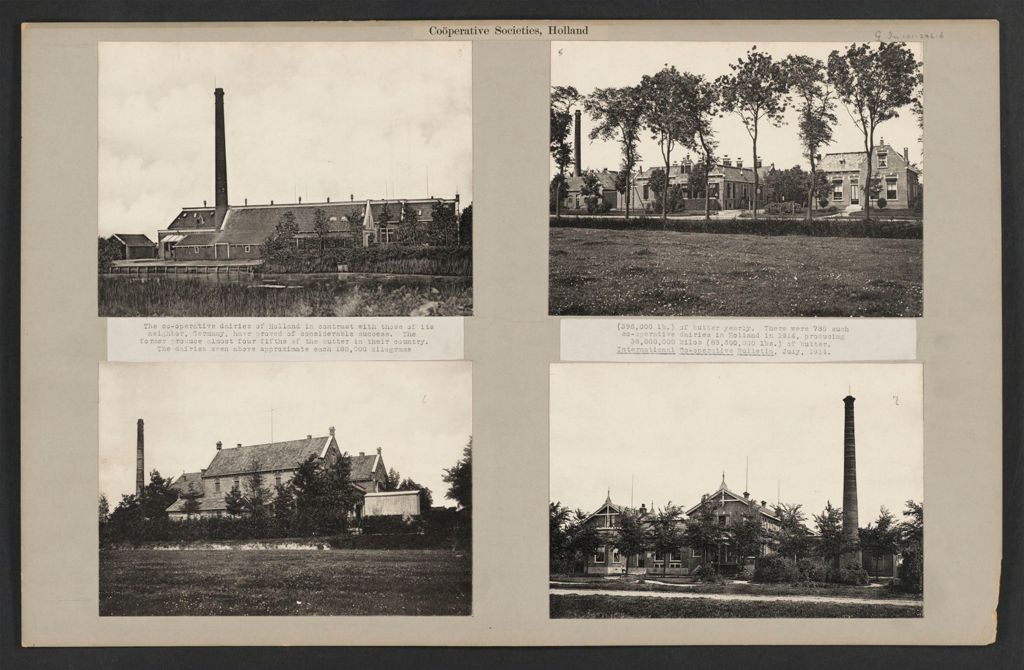 Industrial Problems, Coöperation: Holland. Coöperative Dairies And Creameries: Coöperative Societies, Holland: The Co-Operative Dairies Of Holland In Contrast With Those Of Its Neighbor, Germany, Have Proved Of Considerable Success.