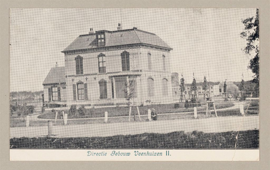 Industrial Problems, Unemployed, Labor Colonies: Netherlands. Veenhuizen: Dutch State-Labor-Colonies: Veenhuizen (Near Assen), Northern Holland: Directie Gebouw Veenhuizen Ii.