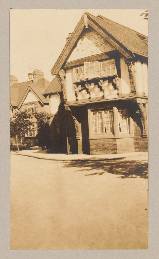 Industrial Problems, Welfare Work: Great Britain, England. Port Sunlight. Lever Bros.: Improved Workmen's Dwellings: Improved Workmen's Dwellings: England: Model Dwellings: Port Sunlight Near Liverpool (Lever Bros., Soap Manufacturers).