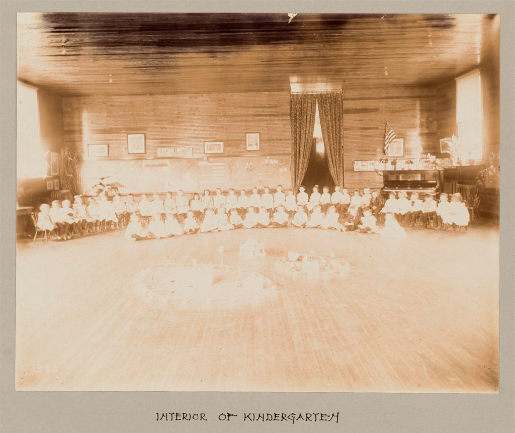 Industrial Problems, Welfare Work: United States. Maryland. Sparrow's Point. Maryland Steel Company: Provision Of Educational Facilities For Employees: Maryland Steel Company, Sparrows Point, Md.: Interior Of Kindergarten