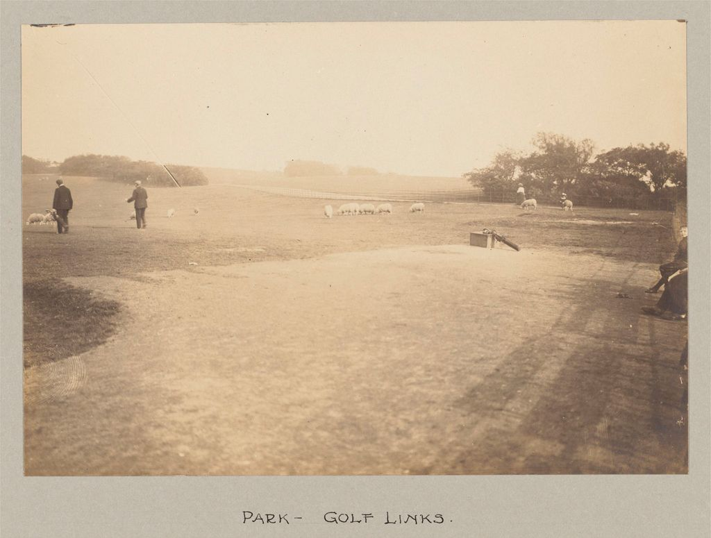 Recreation, Parks And Playgrounds: Great Britain, Scotland. Glasgow. Public Park: Social Conditions In Glasgow, Scotland, 1903: Park - Golf Links.