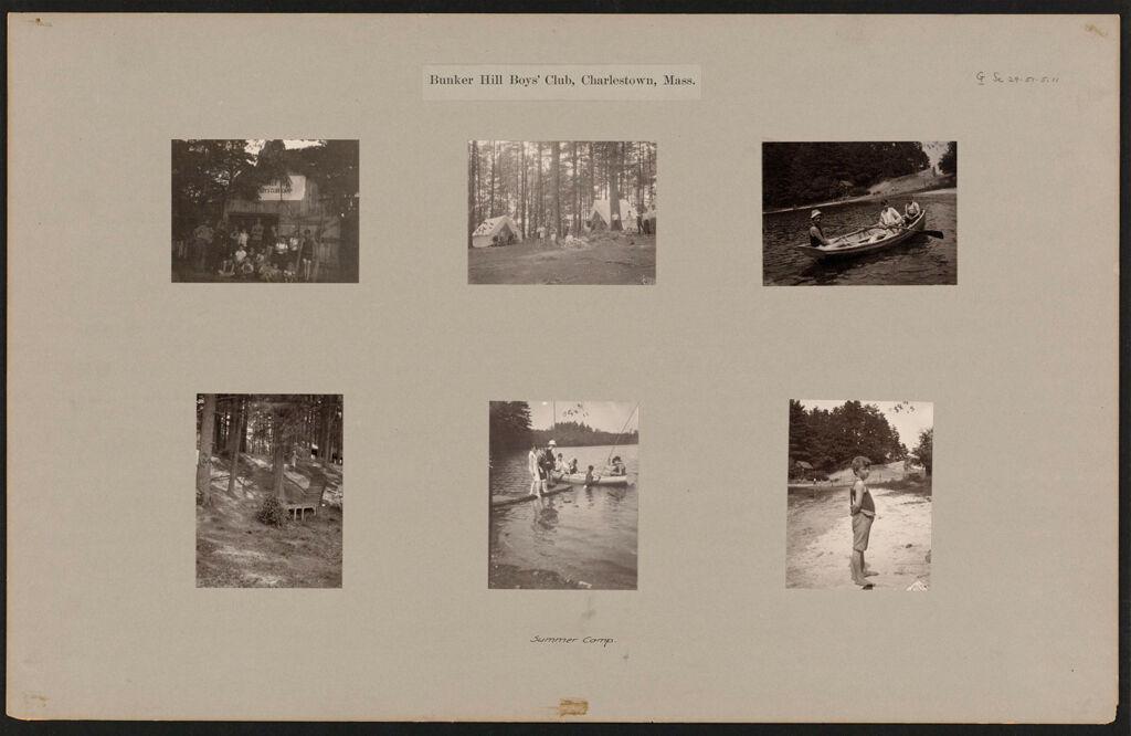 Social Settlements: United States. Massachusetts. Charlestown.