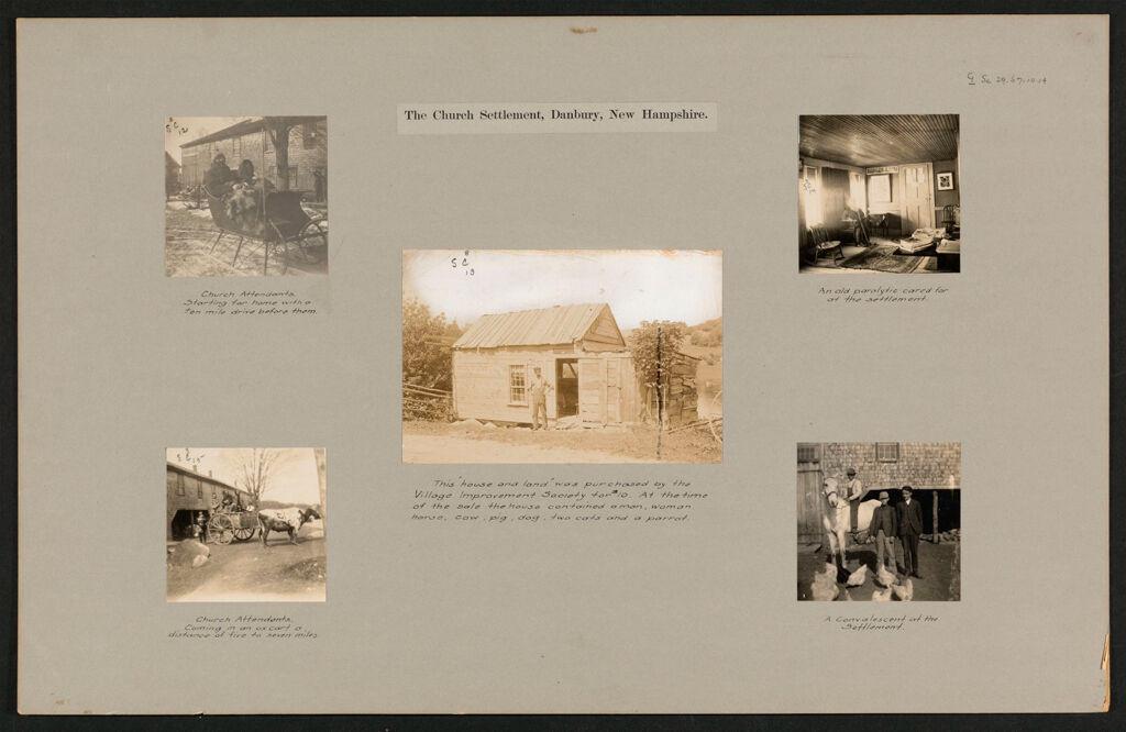 Social Settlements: United States. New Hampshire. Danbury.