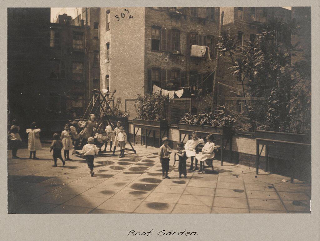 Social Settlements: United States. New York. New York City.