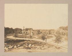 Industrial Problems, Welfare Work: United States. Massachusetts. North Billerica. Talbot Mills: Talbot Mills, North Billerica: Dwellings of Employees..   Social Museum Collection