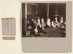Charity, Hospitals: United States. New York. Ogdensburg. City Hospital and Orphanage: Grey Nuns of the Cross: City Hospital and Orphanage, Ogdensburg, N.Y. (Under the direction of the Grey Nuns of the Cross): A play-room..   Social Museum Collection