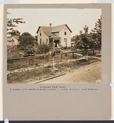 Industrial Problems, Welfare Work: United States. Illinois. LeClaire. Nelson Manufacturing Company: Welfare Institutions. N.O. Nelson Co., LeClaire, Ill.: Working Man's Home.: 6 Rooms - City Water - Electric Lights - Cost without Land $1500.00.   Social Museum Collection