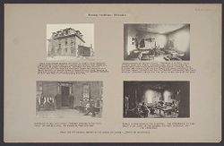 Housing, Conditions: United States. Wisconsin. Milwaukee. Tenements: Housing Conditions: Milwaukee: From the 12th Biennial Report of the Bureau of Labor - State of Wisconsin.   Social Museum Collection