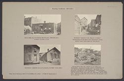 Housing, Conditions: United States. Wisconsin. Milwaukee. Tenements: Housing Conditions: Milwaukee..   Social Museum Collection
