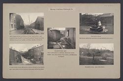 Housing, Conditions: United States. Pennsylvannia. Pittsburgh. Houses; Streets; Yards: Housing Conditions, Pittsburgh. Pa..   Social Museum Collection