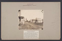 Housing, Industrial: United States. Massachusetts. Framingham. Dennison Manufacturing Company: Industrial Housing, Detached Dwellings Frame Constrruction: Dennison Manufacturing Company, Framingham, Massachusetts..   Social Museum Collection