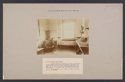 "Housing, Improved: United States. New York. New York City. ""City and  Suburban Homes Co."": City and Suburban Homes Co., New York City: View of a kitchen belonging to a three room apartment in the Company's First Avenue model tenement buildings..   Social Museum Collection"