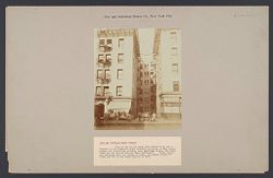 """Housing, Improved: United States. New York. New York City. """"City and  Suburban Homes Co."""": City and Suburban Homes Co., New York City: View of one of the large open courts which are a feature of the Company's model tenement buildings on West Sixty-eighth and Sixty-ninth streets, near Amsterdam Avenue, New York, known as the """"Alfred Corning Clark Buildings"""".  These courts are seventeen feet six inches in width, and supply plenty of light and air to the rooms opening on them..   Social Museum Collection"""