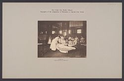 Education, Industrial: United States. New York. New York City. Vacation Schools: New York City Public Schools. Examples of the Adaptation of Education to Special City Needs: Nursing, Public School 32. Brooklyn..   Social Museum Collection