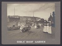 Industrial Problems, Welfare Work: United States. Pennsylvania. Pittsburgh. H. J. Heinz Company: Girls' Roof Garden.