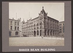 Industrial Problems, Welfare Work: United States. Pennsylvania. Pittsburgh. H.J. Heinz Company: Baked Bean Building..   Social Museum Collection