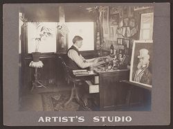 Industrial Problems, Welfare Work: United States. Pennsylvania. Pittsburgh. H.J. Heinz Company: Artist's Studio..   Social Museum Collection