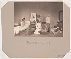 Races, Negroes: United States. Alabama. Tuskegee. Tuskegee Institute: Tuskegee Institute: Upholstery Division..   Social Museum Collection