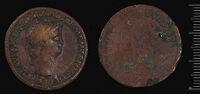 Dupondius Of Nero, Rome