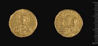 Histamenon Of John I With The Meter Theou