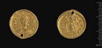 Solidus Of The Augusta Aelia Verina, Constantinople