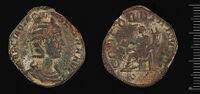 Sestertius Of Otacilia Severa