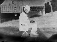 [Lyonel Feininger Sketching, Graal Or Rügen, Baltic Coast]