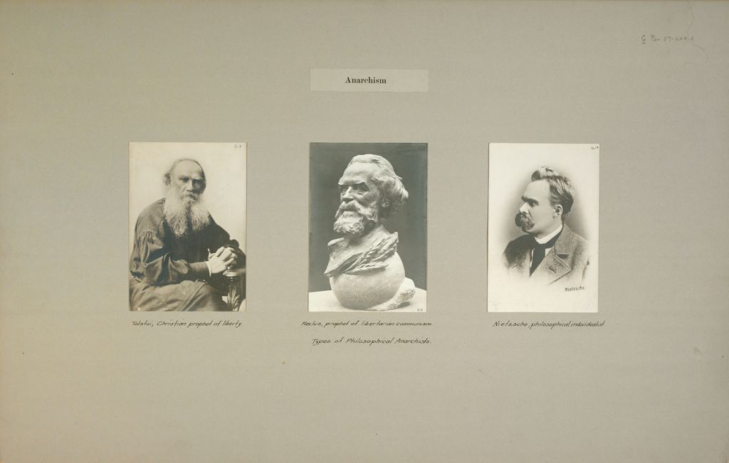 Anarchism: France. Germany. Russia.: Anarchism: Types Of Philosophical Anarchists.